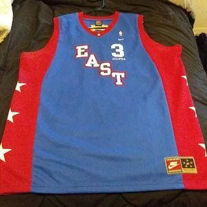 2004 nike allen iverson all star jersey 3xl tall